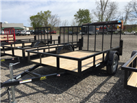 BNM Trailers Lowside Utility: 610LS3/D