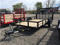 BNM Trailers Lowside Utility: 612LS3/D
