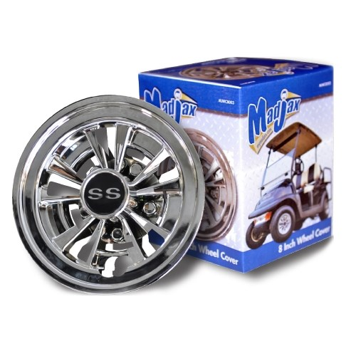 Madjax SS Wheel Cover 8 Inch