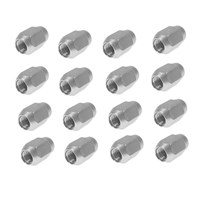 Lug Nut Chrome Standard EZGO and Club Car 20 Pack