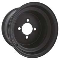 Black Steel Wheel 10 x 8