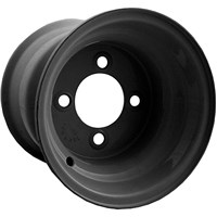 Gloss Black Steel Wheel