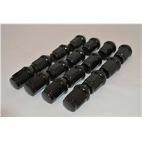 16 Pack 12mm x 1.25 Metric Lug Nuts - Black