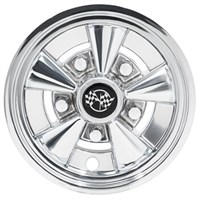 "WHEEL COVER 8"" RALLY CLASSIC, CHROME (1 piece)"