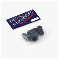 LUG NUT 4PKG, 12MM X 1.25 BLACK
