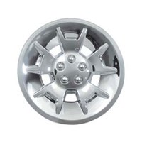 "WHEEL COVER, 10"" DEMON CHROME"
