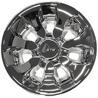"WHEEL COVER 8"", DRIFTER, SILVER"