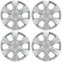 "WHEEL COVER 8"", DRIFTER, SILVER (4 PKG)"