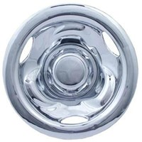 "WHEEL COVER, 10"" DEEP DISH CHROME"