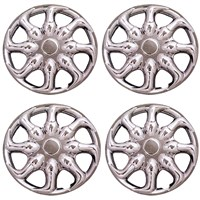 "WHEEL COVER SET(4), 8"" NINJA CHROME"