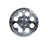 "WHEEL COVER, 10"" RALLY, E-Z-GO EMBLEM"