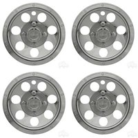 "Beadlock A/T Chrome 10"" Wheel Cover (SET OF 4)"