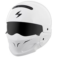 Scorpion Covert White Helmet