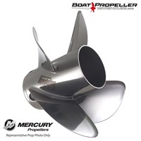 "Revolution 4 (14.6 x 18"") MERCURY LH Propeller, 48-8M0151318"