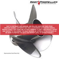 "Revolution 4 (14 3/5 x 18"") MERCURY LH Propeller, 48-8M0137907"