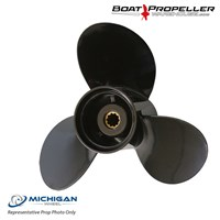 "Michigan Match - Evinrude (10 1/4 x 14"") MICHIGAN WHEEL® RH Propeller, 062209"