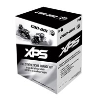 XPS 4-Stroke Oil Change Kit - Synthetic Blend (5W40)