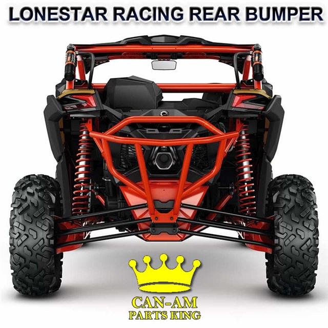 Can Am X3 For Sale >> Can Am Maverick X3 Rear Red Lonestar Racing Bumper Can Am Parts King
