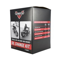 Victory Motorcycle 20W-40 Semi-Synthetic Oil Change Kit
