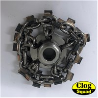 "1/2"" Medium Cyclone Chain Knockers for Grease"