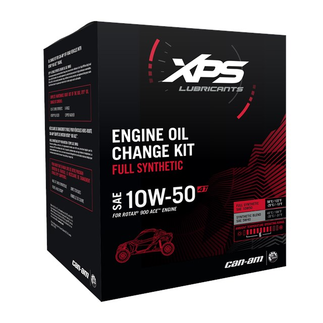 4T 10W-50 Synthetic Change Kit Rotax 900 ACE engine