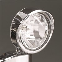 3 1/2 inch Visored Halogen Driving Light