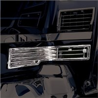 Chrome ABS Hot Air Vents