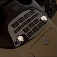 Chrome Radio Knobs for 1800 Goldwing (Pa