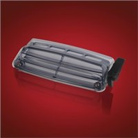 Show Chrome Windshield Vent - Honda GL1800 Goldw