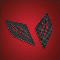 Big Bike Parts Saddlebag Scuff Pads for