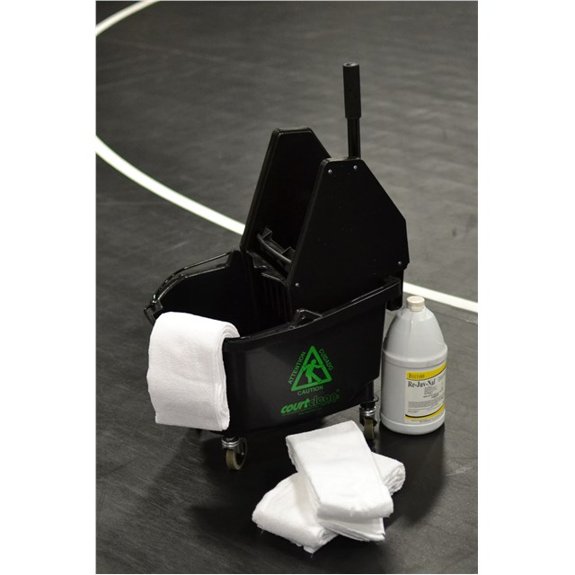 Deluxe Courtclean® Start Up Kit for Disinfecting Mats & Covers