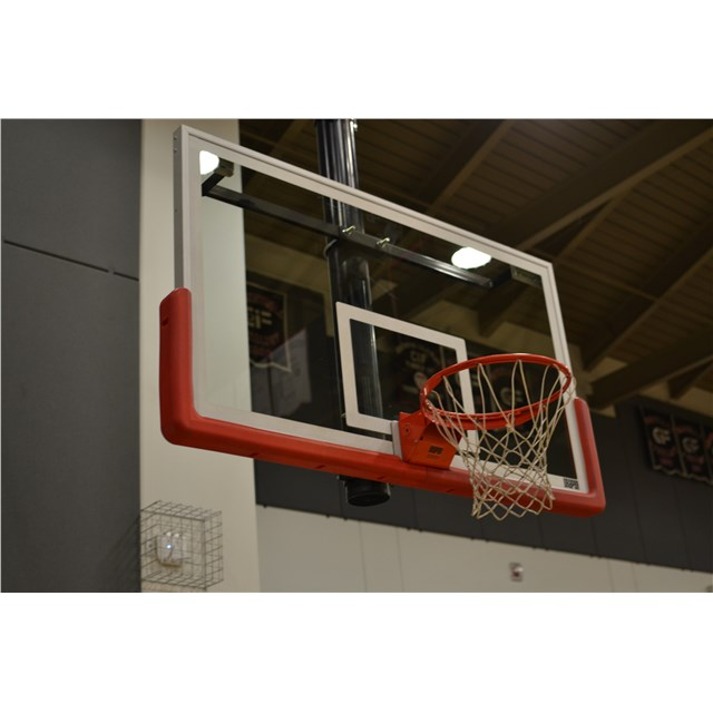 Hoopclean Backboard System w/ 8' Pole