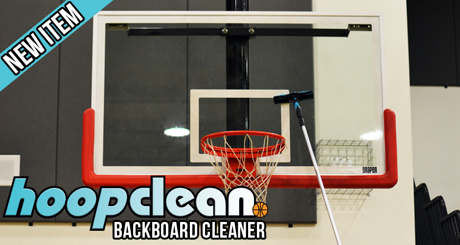 Hoopclean Backboard Cleaner