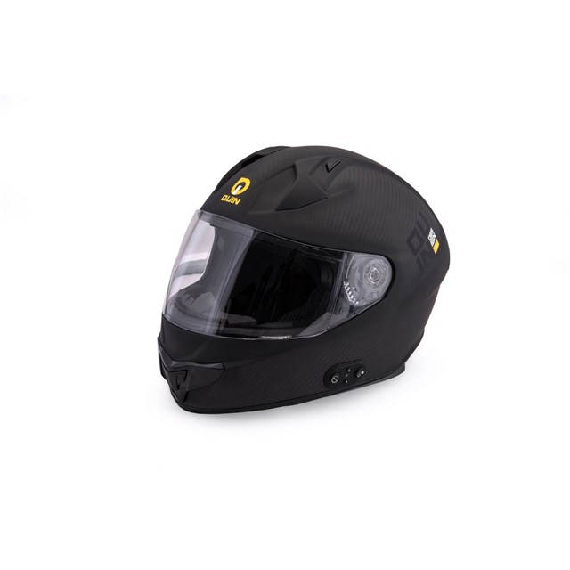 Quin Ghost Carbon Bluetooth Integrated Smart Helmet Medium