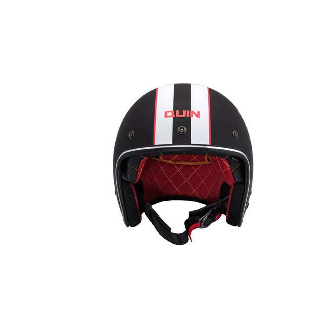 Quin McQ Nero Bluetooth Integrated Smart Helmet XS