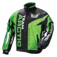 Arctic Cat Men's Team Jacket Lime