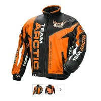 Arctic Cat Women's Team Arctic Jacket Orange