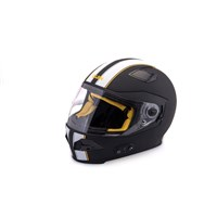 Quin Spitfire Nero Bluetooth Integrated Smart Helmet XS