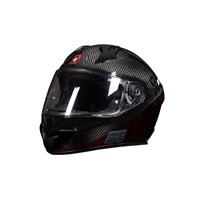 Quin Umbra Carbon Bluetooth Integrated Smart Helmet Medium