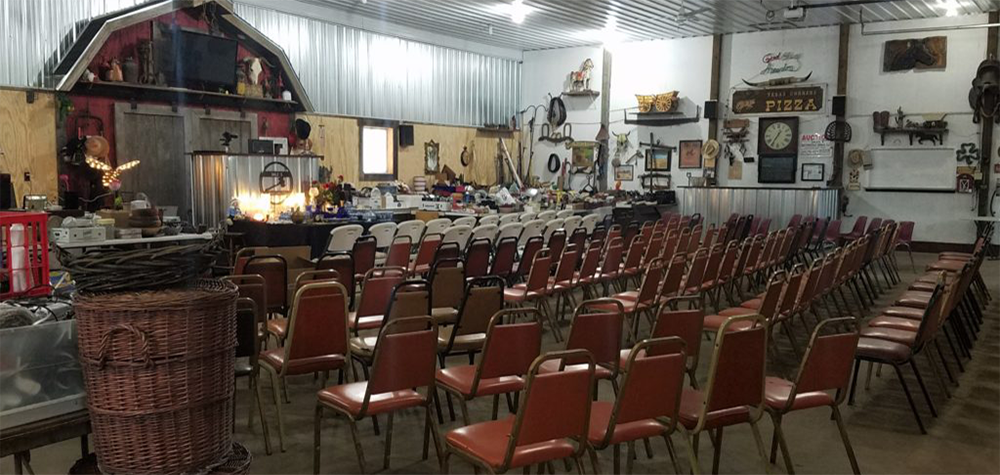 Auction Barn Seating
