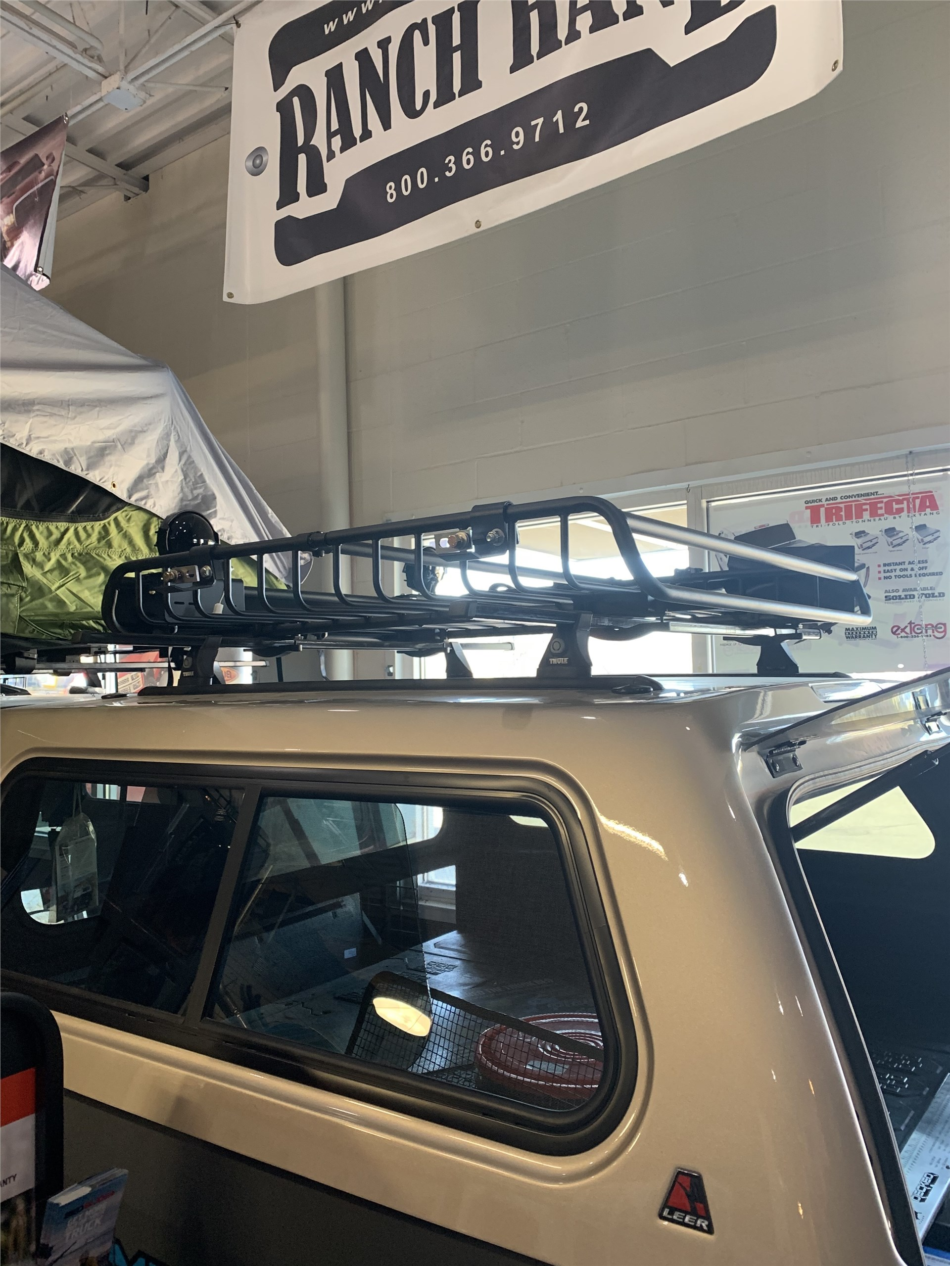 Kayak Rack on Shell