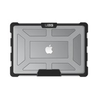 UAG MacBook Pro 15 inch with TouchBar Laptop Cases - Plasma - Ice (Transparent) MBP15-4G-L-IC
