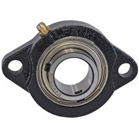 1411000 Replacement 2-Hole 1 Inch Flanged Cast Bearing
