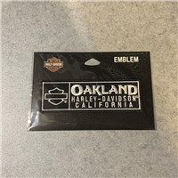 Oakland H-D Patch