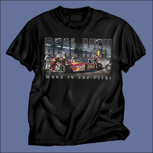 Real Men T-Shirt  - 9