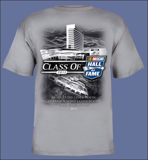 NASCAR Hall of Fame Class of 2012 T-Shirt