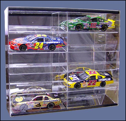 10 Car 1:24 Scale Display Case