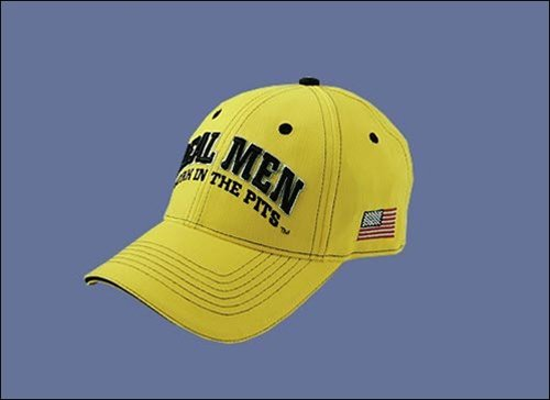 Real Men Hat - Yellow