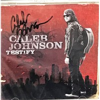 "2014 American Idol Winner Caleb Johnson Signed ""Testify"" CD"