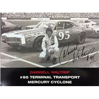 #95 Terminal Transport Starting Grid 8 x 10 Signed by DW